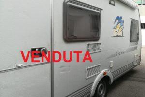 ROULOTE   KNAUS  SUDWIND 550 COME NUOVA  SEMPRE RIMESSATA INT. CAMPERIZZATA